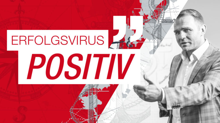 """ERFOLGSVIRUS """"POSITIV"""""""