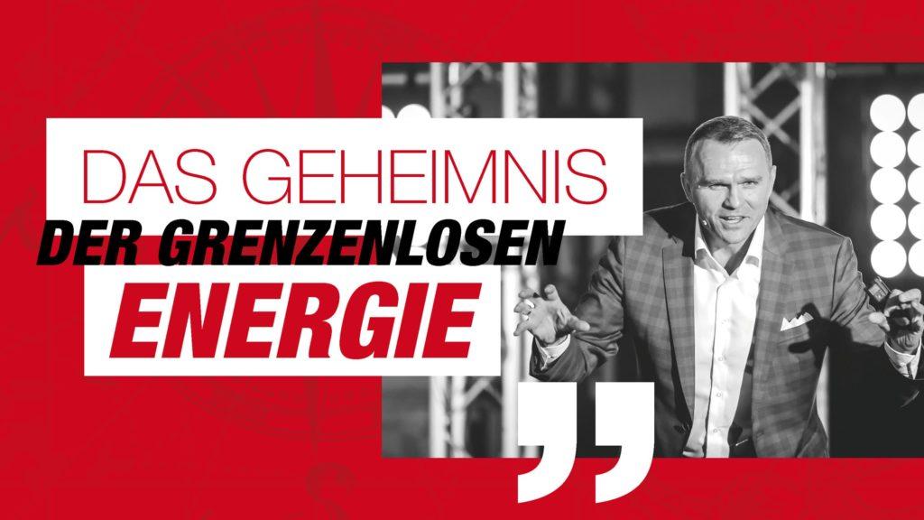 DAS GEHEIMNIS DER GRENZENLOSEN ENERGIE